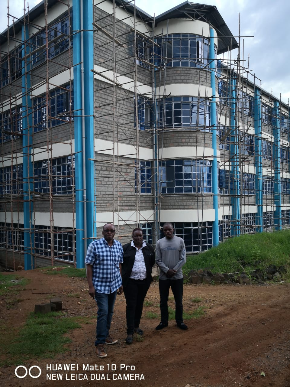 Electrical installation at Karatina University