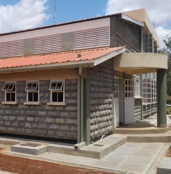 Construction works at Kirinyaga University