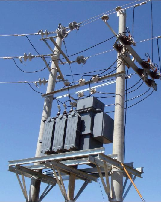 Construction of Electric Powerlines & Transformers